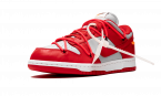 Nike Dunk Low Off-White / University Red