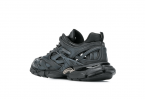 Balenciaga Track.2 Sneaker in Black Neoprene and Rubber